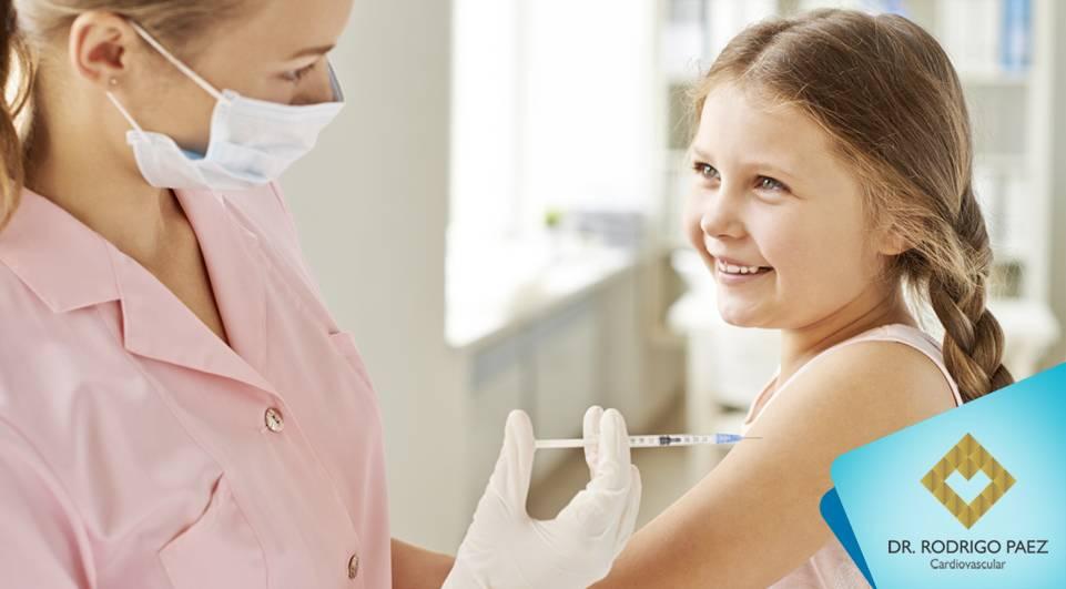 Dia D de vacinação contra pólio e sarampo.